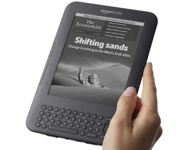 Amazon's Kindle 3G eReader - and why free books are the future.