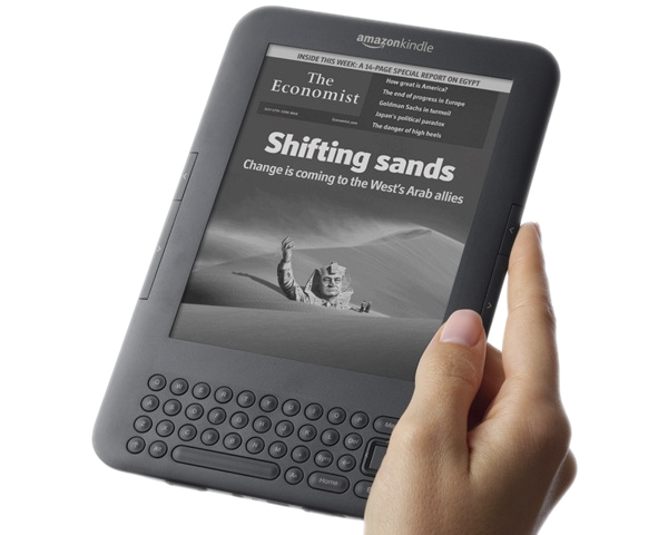 The Amazon Kindle 3G - but why must its e-books cost so much?
