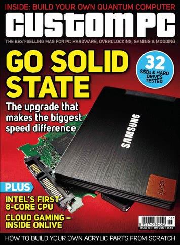 Custom PC Magazine, Issue 104 cover