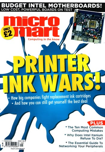 Micro Mart Issue 1198 Cover