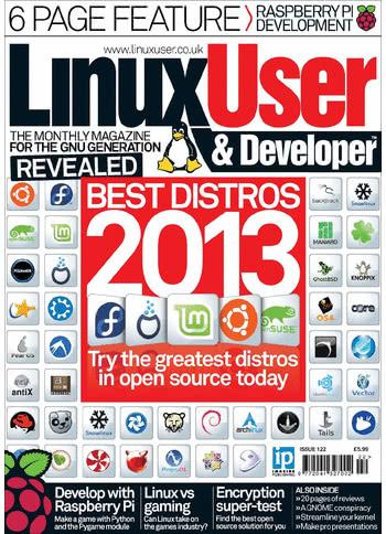 Linux User & Developer Issue 122