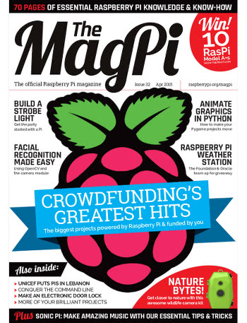 The MagPi Issue 32