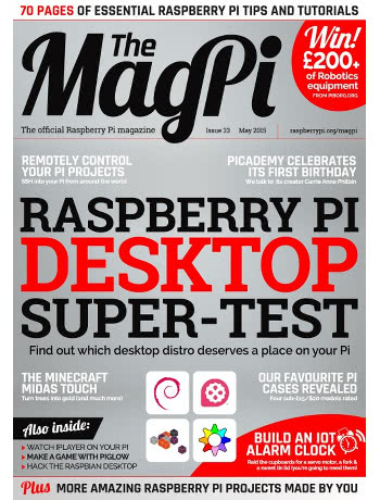 The MagPi Issue 33