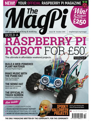 The MagPi Issue 38