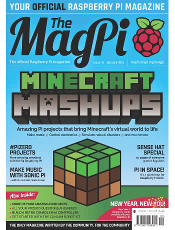 The MagPi Issue 41