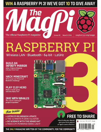 The MagPi Issue 43
