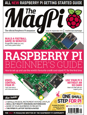 The MagPi Issue 49