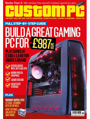 Custom PC Magazine Issue 158