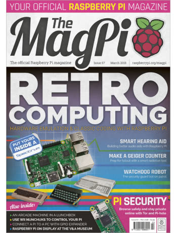 MagPi Issue 67