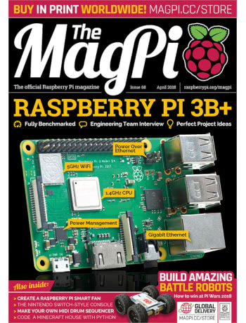 The MagPi Issue 68