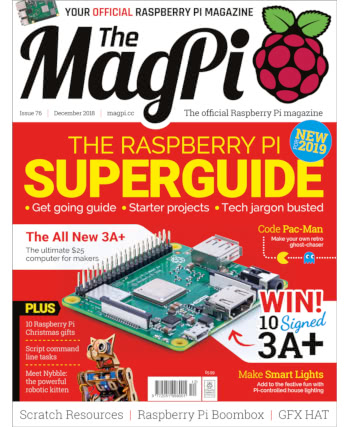 The MagPi Issue 76
