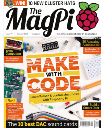 The MagPi Issue 77