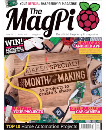 The MagPi Issue 79