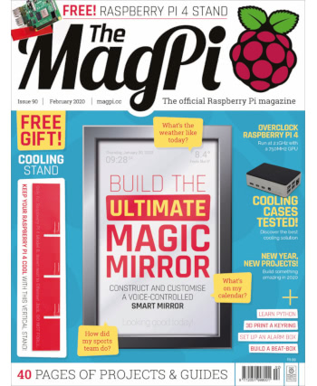 The MagPi Issue 90