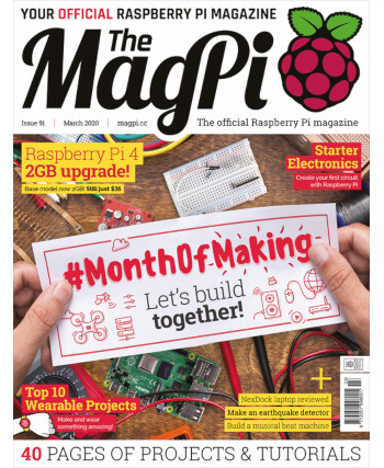 The MagPi Issue 91