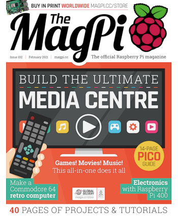 The MagPi Issue 102
