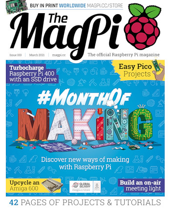MagPi Issue 103