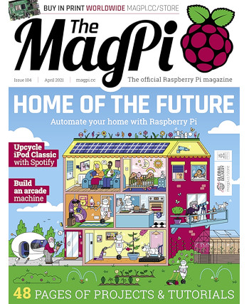 The MagPi Issue 104