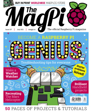 The MagPi Issue 107
