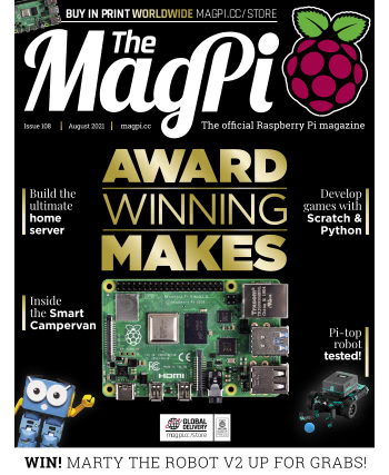 The MagPi Issue 108